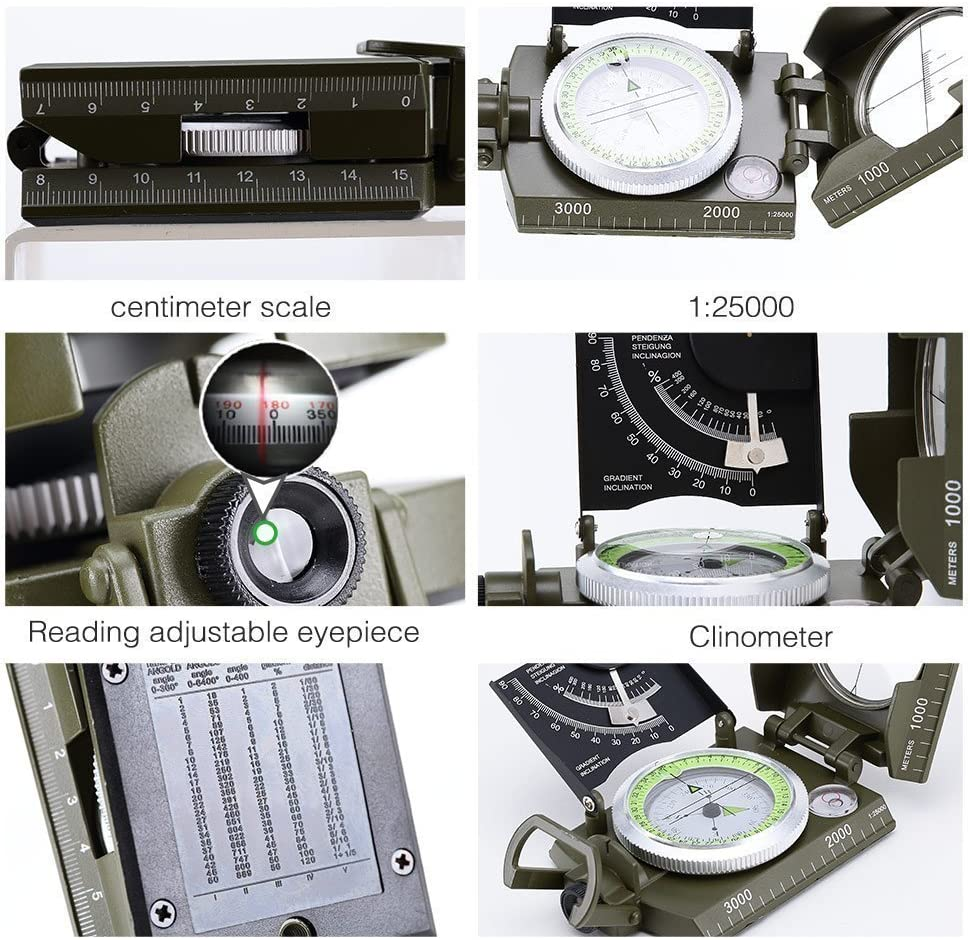jshanmei Compass K4074 profesional mentale Vaso multifuncional ...