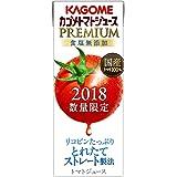 カゴメ トマトジュースプレミアム食塩無添加 200ml×24本