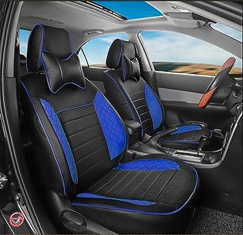 Amazon Com Autodecorun Custom Fit Perforated Leatherette Car Seat