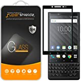 (2 Pack) Supershieldz Designed for BlackBerry Key2 Tempered Glass Screen Protector, (Full Screen Coverage) Anti Scratch, Bubb