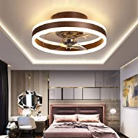 Omkeerbaar Plafondventilator met Licht en Afstandsbediening Rustig 6 Snelheden Slaapkamer Led Plafondventilator met…