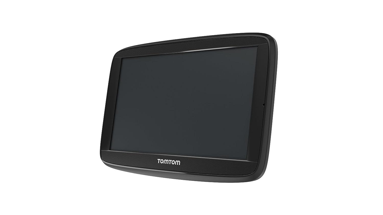 Display da 5 TomTom Via 53 Europa 45 GPS per Auto Aggiornamento Tramite Wi-Fi Mappe a Vita Nero