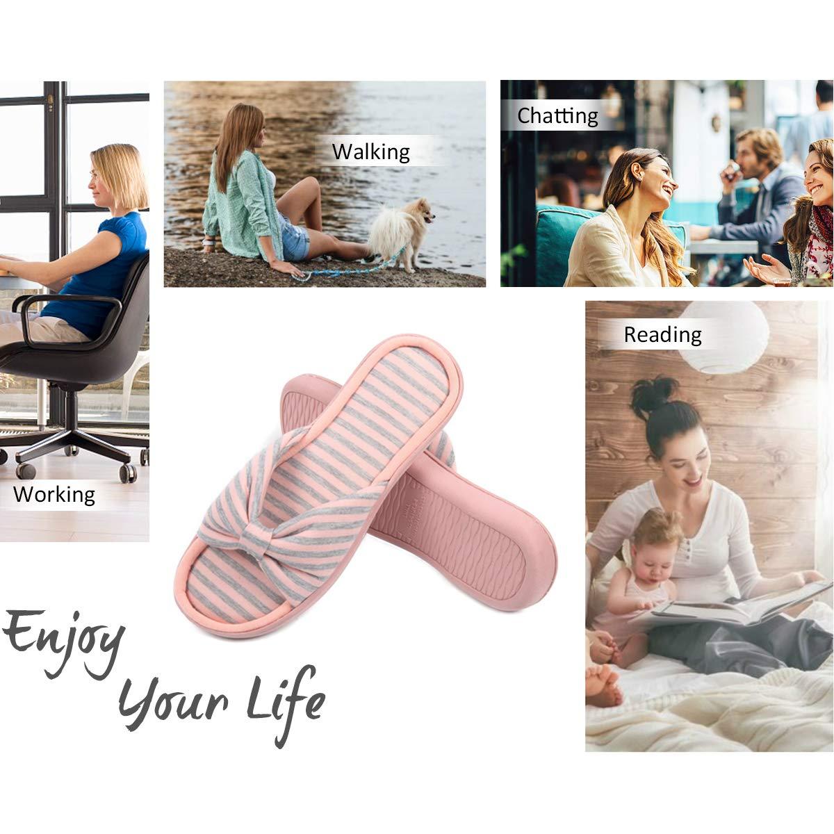 Caramella Bubble Womens Summer Open Toe Memory Foam Slip on Slippers Indoor Outdoor