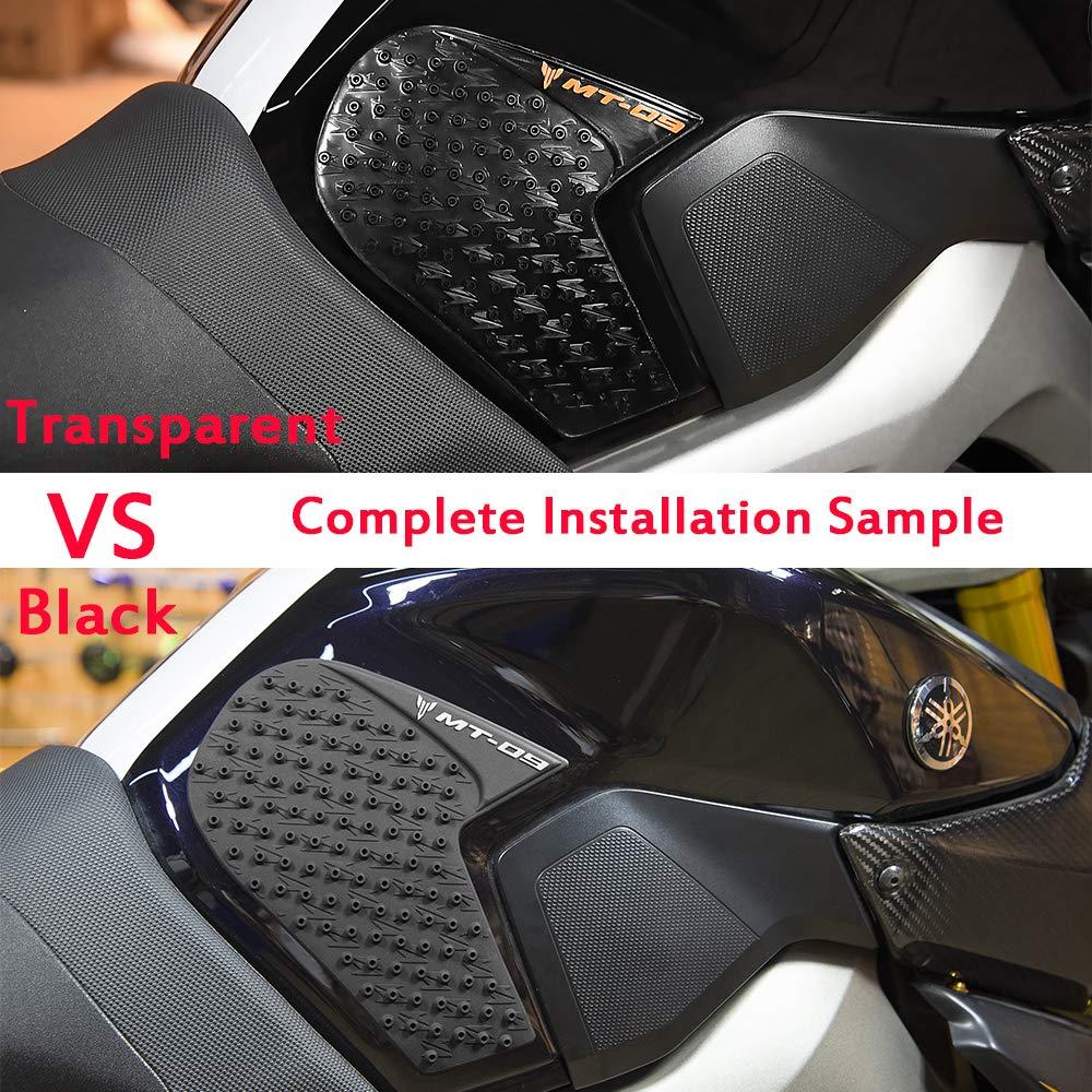 S 1000RR S 1000 RR Transparente Antideslizante Tanque Almohadilla de gas Rodilla Empu/ñaduras laterales de combustible for 2010-2015 S1000RR 2011 2012 2013 2014