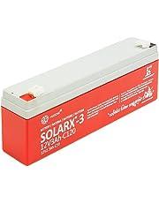 Xunzel Deep Cycle batería solar 12V, 1pieza, solarx de 3