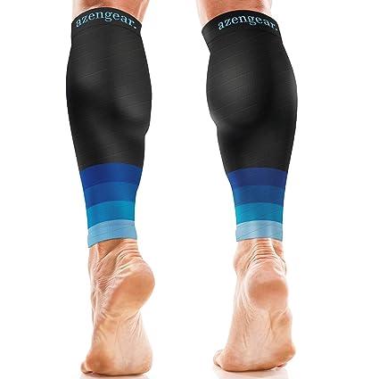 5ee6ed3bf0 aZengear Calf Braces - Calf Sleeves for Women Men - Calf Support - Compression  Calf Guards