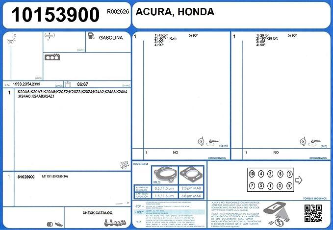 Ajusa  10153900 Gasket  cylinder head