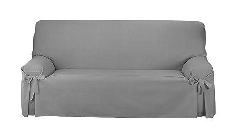 Martina Home Funda de sofá Lazos Turia 3 Plazas Tostado