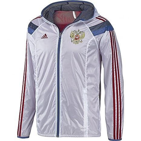 2014 15 Russia Adidas Anthem Jacket (White): Amazon.ca