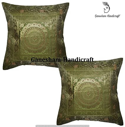 Amazon Ganesham Handicraft Handmade Silk Brocade Home Decor New Brocade Home Decor Decoration