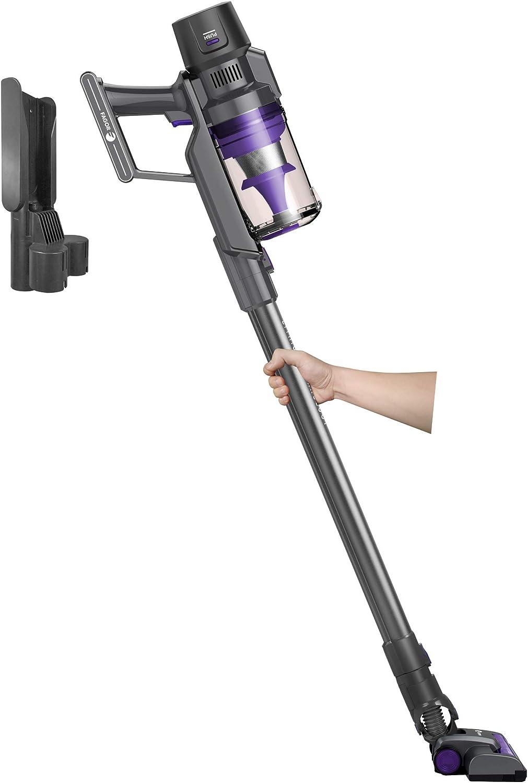 Fagor Ares 25.9V FG2721 Aspirador Escoba sin Cable sin Bolsa Cicl/ónico Bateria Litio 2200mAh 25,9V 220W autonom/ía 40 min Negro 256