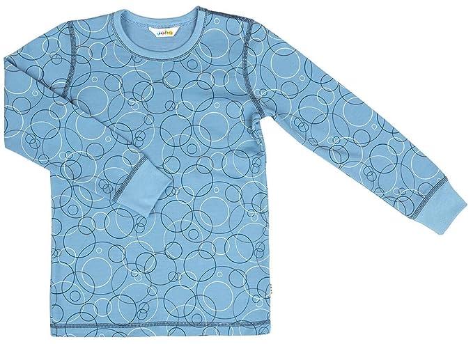 joha Joven Camiseta interior funcional de manga larga Bubbles de lana de merino y Bio de