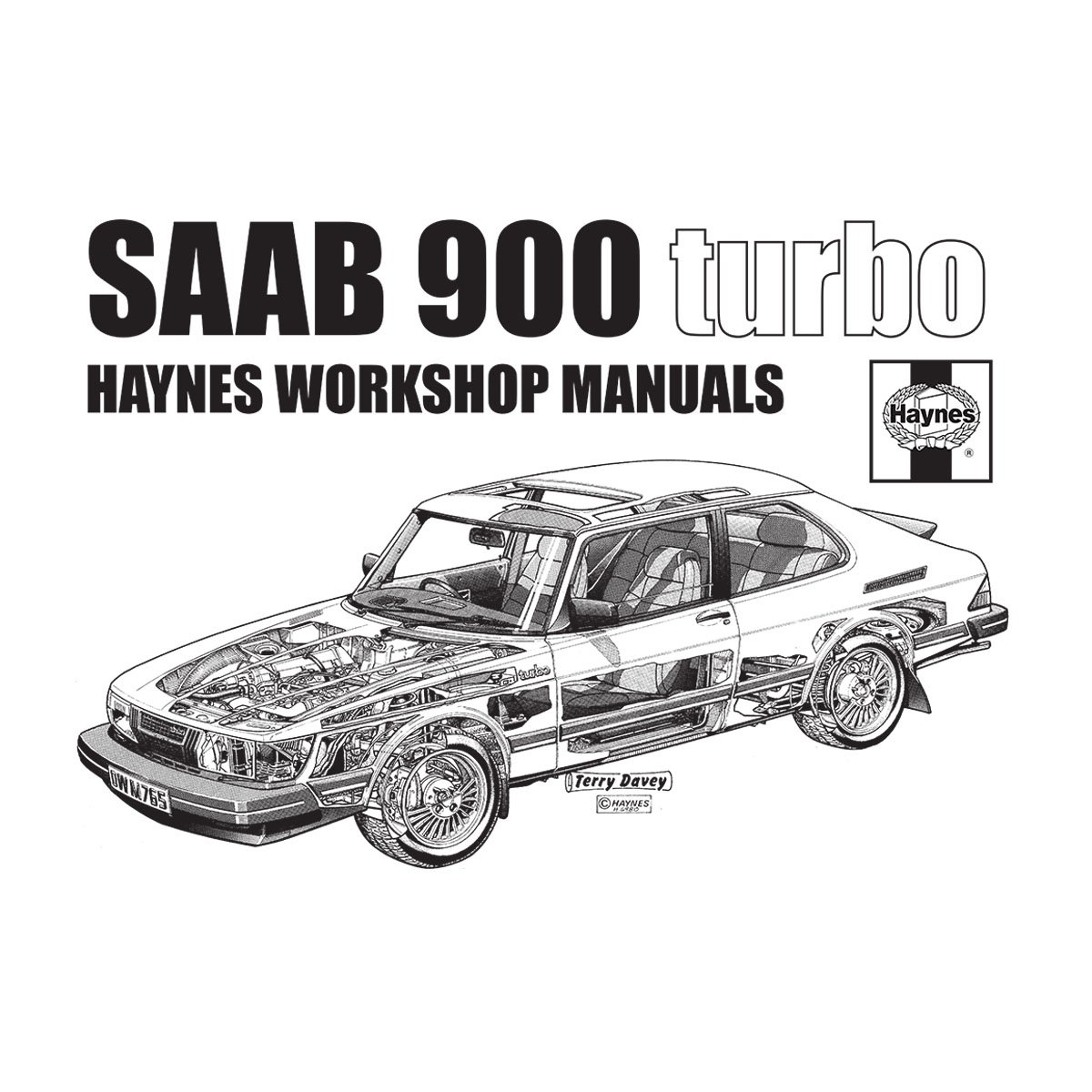 POD66 Haynes Workshop Manual 0765 Saab 900 Turbo Black Womens Vest at Amazon Womens Clothing store: