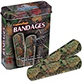 River's Edge Products Camouflage Bandages (Camo - CB Outdoors - Browns)