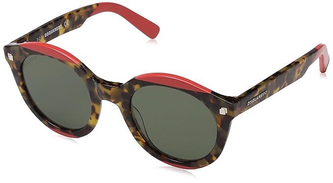 Dsquared2 Round Eye, Gafas de sol para Mujer, Marrón (Havana ...