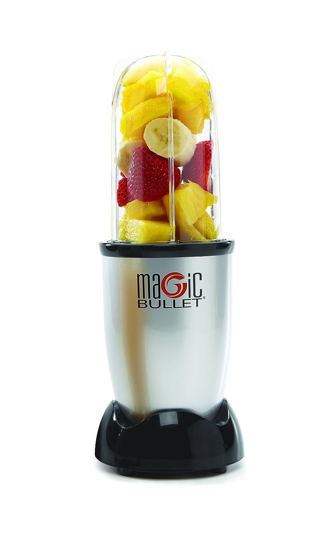 NutriBullet Licuadora Magic Bullet 0, 57 l; 200 W; color plateado: Amazon.es
