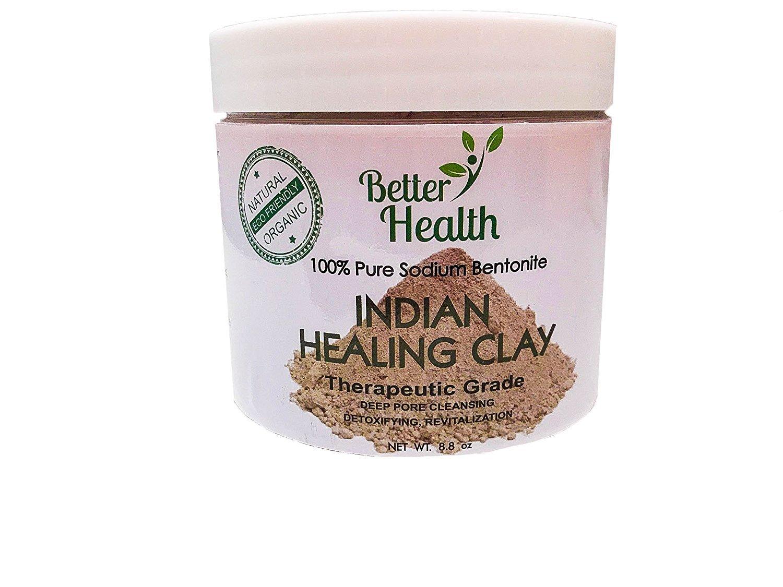Meilleure santé Indien de guérison argile de bentonite Better Health Brands