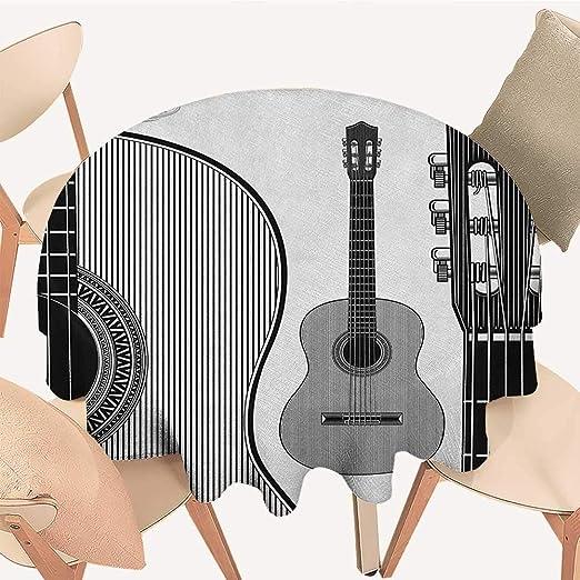 longbuyer, Funda para Mesa de Guitarra, Instrumentos de Grunge ...