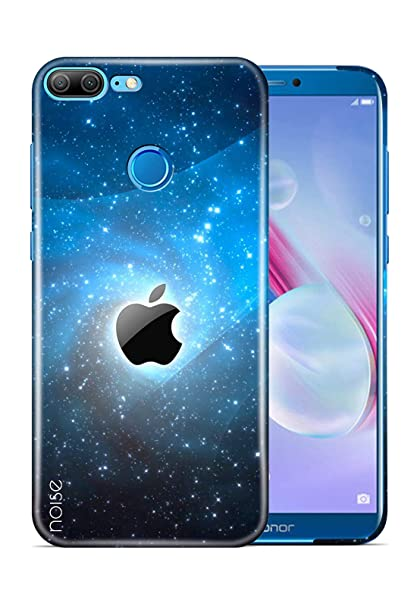 Noise Printed Back Cover For Honor 9 Lite Patterns Ethnic Black Glow Apple