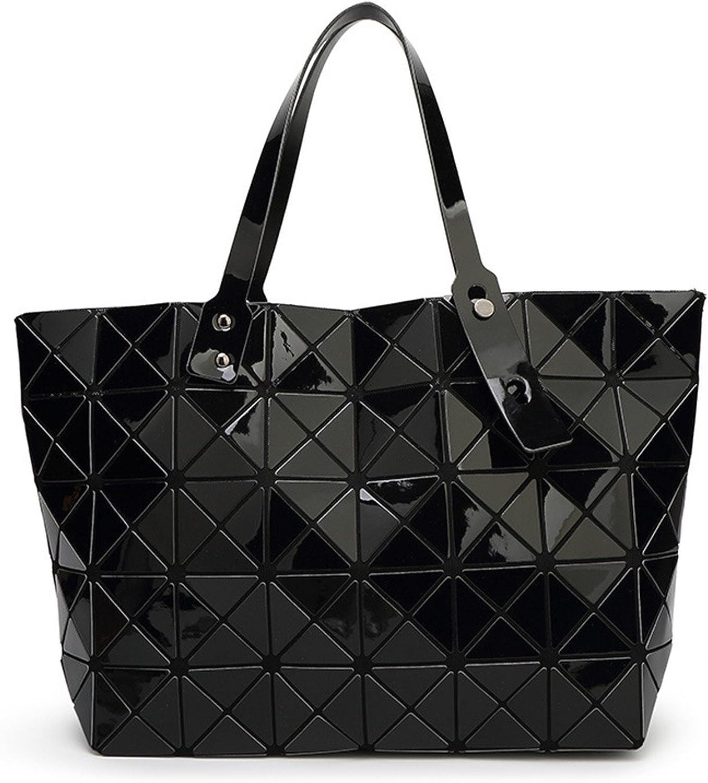 KEBINAI women pearl bag Diamond Lattice Tote geometry Quilted shoulder bag sac bags handbags women famous brands Chic
