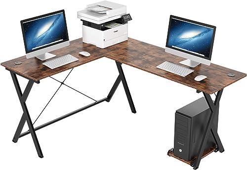 Homfa L-Shaped Corner Computer Desk