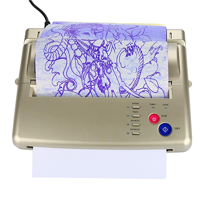 Tattoo Transfer Copier, Impresora de Papel de Plantilla ...