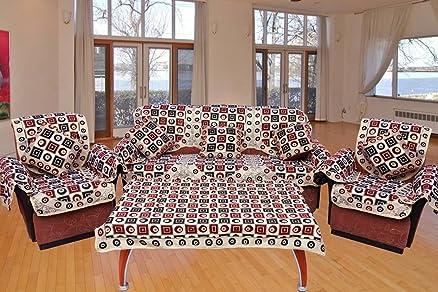 Ab Home Decor Sofa cover Set of 16 Pcs bo with Arm Cover