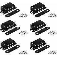 Magnetische snappers, 6 stuks deurmagneten voor kastdeuren, roestvrij stalen deurmagneet, metalen meubelkastmagneet…