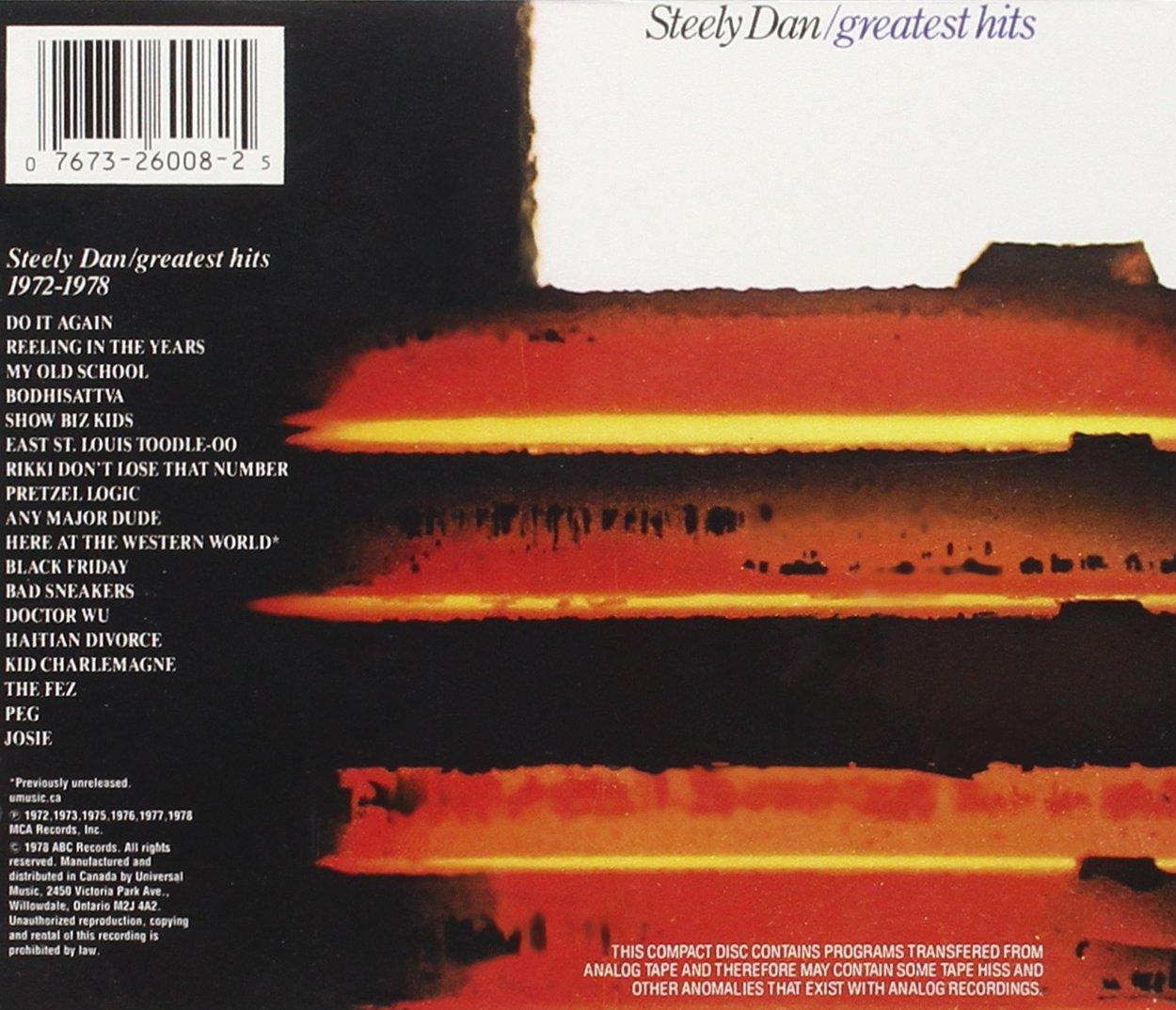 Greatest hits 1972 1978 steely dan amazon music hexwebz Images
