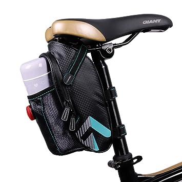 LED para bicicleta asiento), bolsa de sillín, bicicleta ...