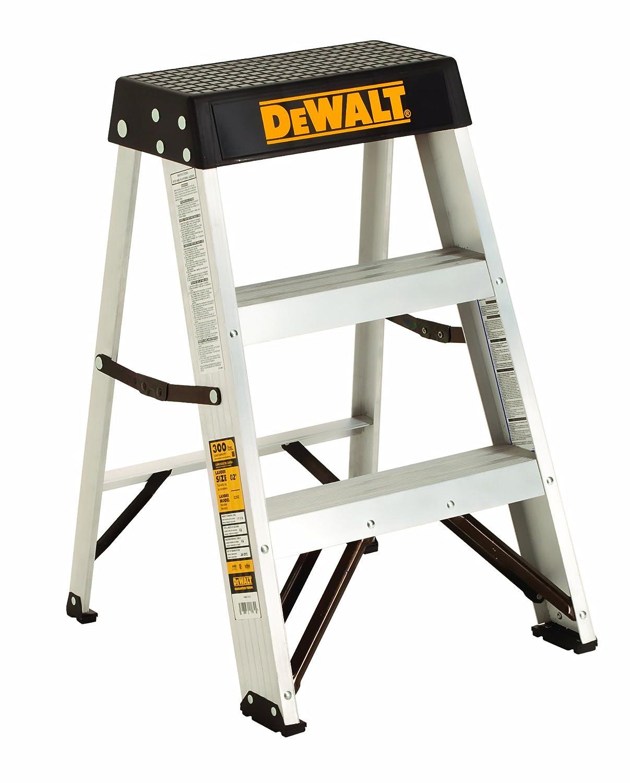 DeWalt DXL2010-02 2-Feet Aluminum Stepladder Type IA with 300-Pound Duty Rating, 2-Feet