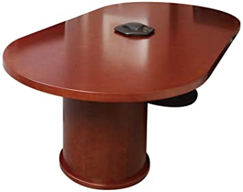 Amazoncom Mayline Mira Series Racetrack Conference Table - Series a conference table