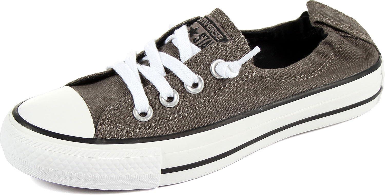 d30c8a233cc Converse Women's Chuck Taylor Shoreline Slip Casual Shoe, Charcoal