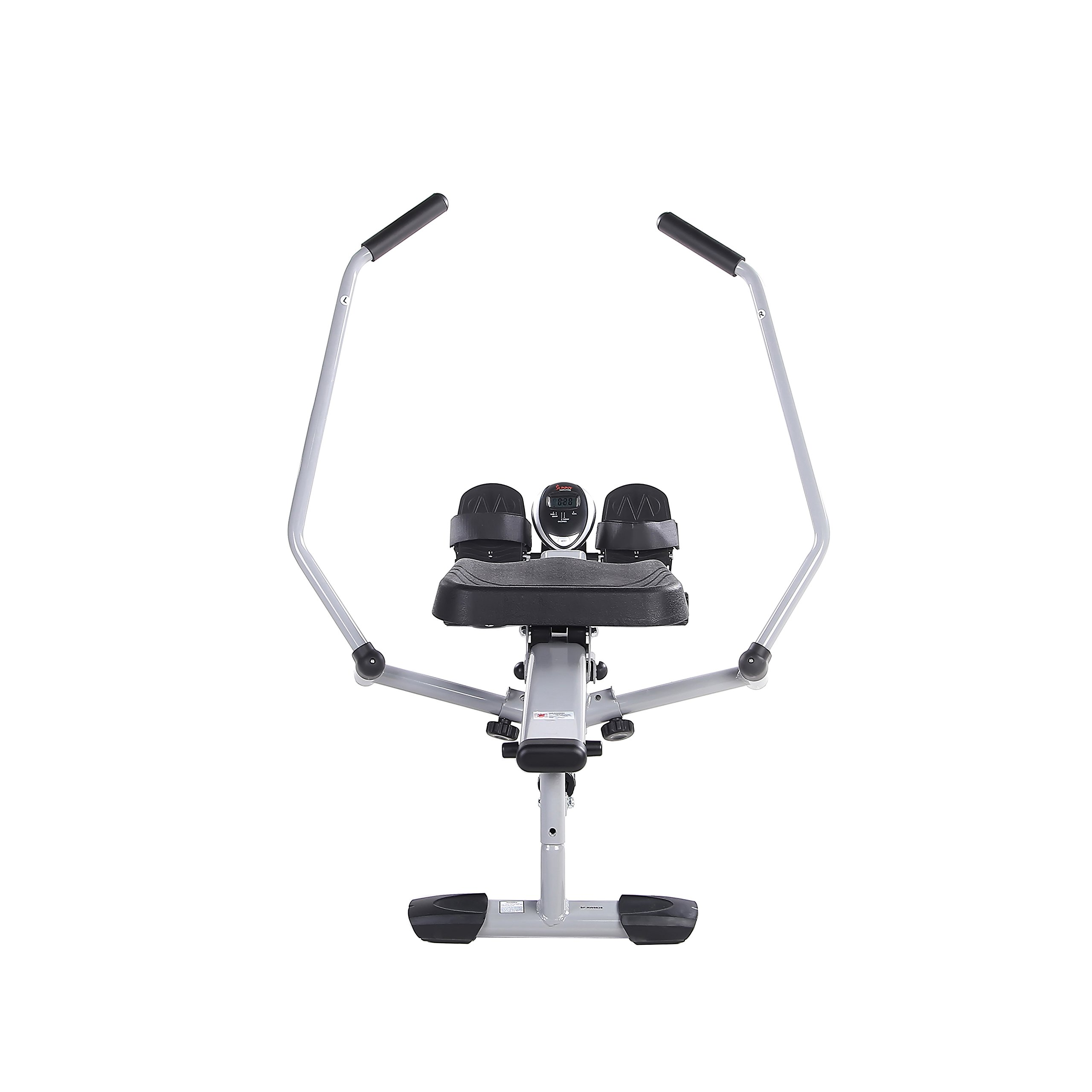 Sunny Health & Fitness SF-RW5639 Full Motion Rowing Machine Rower w/ 350 lb Weight Capacity and LCD Monitor by Sunny Health & Fitness (Image #14)
