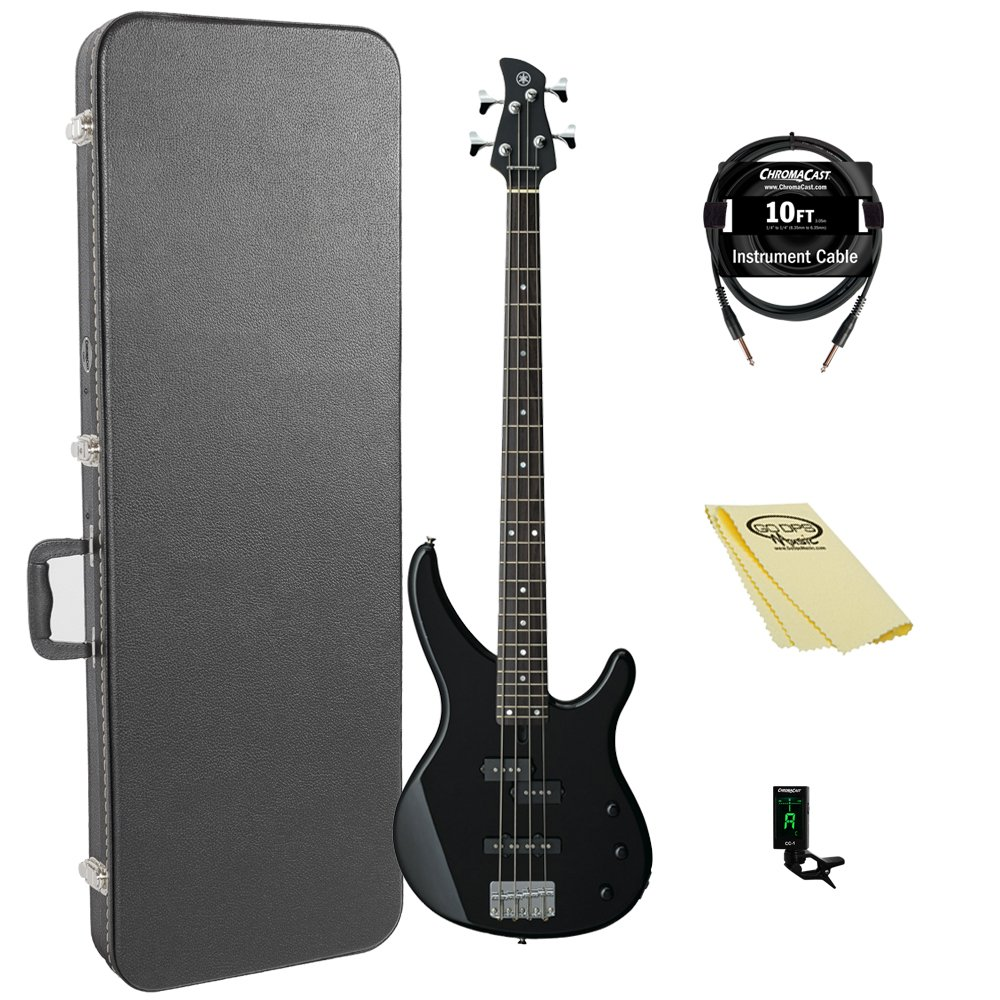 Yamaha TRBX174 BL 4-String Bass Guitar Pack by YAMAHA