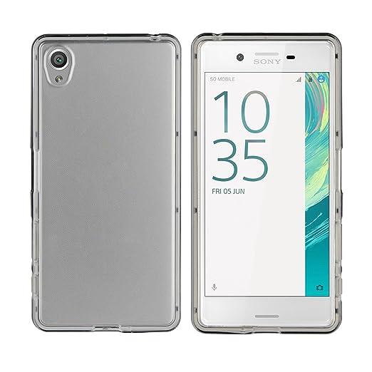 3 opinioni per TBOC® Custodia Gel TPU Trasparente per Sony Xperia X (F5121)- Sony Xperia X Dual