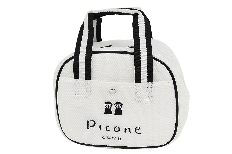ピッコーネクラブ PICONE CLUB カート バッグ カートポーチ レディース c750203 B07B9VXVL4  ホワイト(090) F(00)