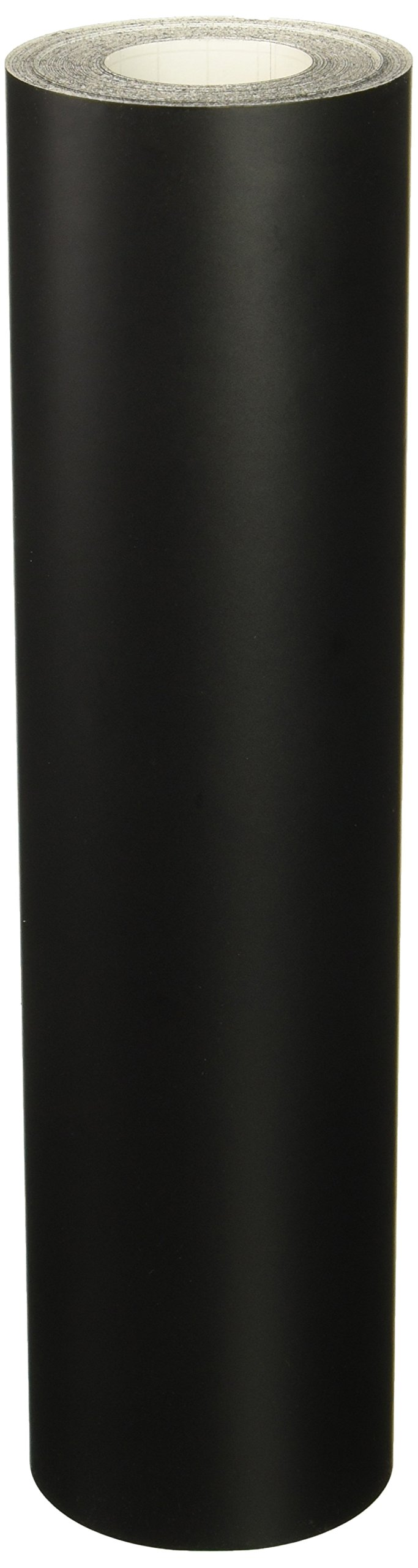 Roll of Oracal 651 Matte Black Vinyl for Craft Cutters and Vinyl Sign Cutters (12'' x50FT)