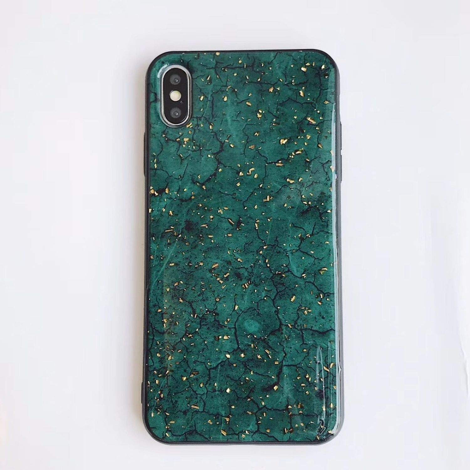 The Most Fashionable Purple Green Marble Crack Glitter Silicon Case for  iPhone 7 case Bling Soft TPU Case for iPhone 6 6s 7 8 Plus X XR XS Max case de9e5fa6d2ad5