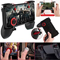 KANISH SALES 3in1 Handle Grip Mobile Gaming Trigger Gamepad Controller for PUBG