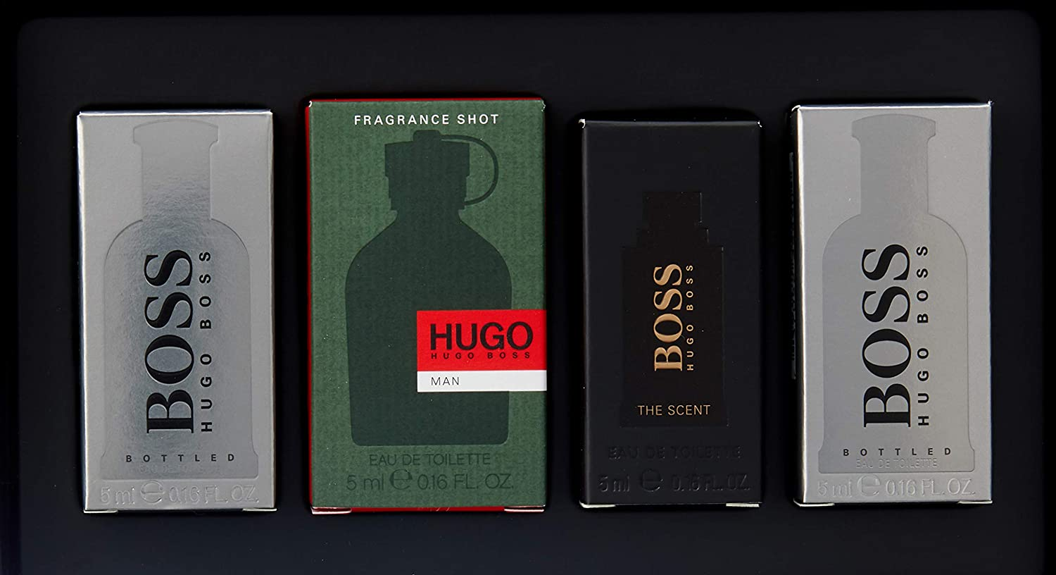 Hugo Boss Miniaturas Hugo Boss 4 Ud 100 ml: Amazon.es: Belleza