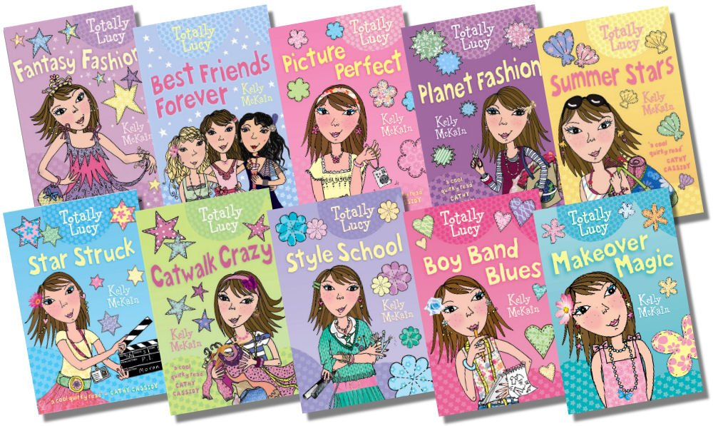 Usborne Totally Lucy Collection 10 Books Rrp 599 Makeover Magic