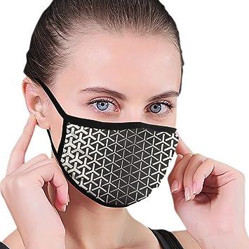 Mascarilla Gradiente de semitono Mosaico Celosía Máscara bucal sin ...