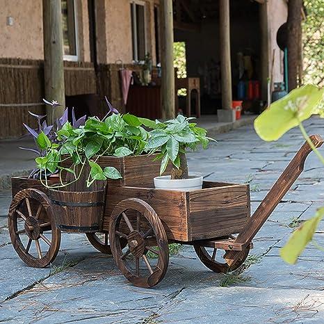 ZEIYUQI Jardín levantado Camas y Jardín Cajas con Ruedas Grow Caja para Verduras, Hierbas, Frutas, Cultivos: Amazon.es: Deportes y aire libre