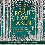 """Inspired by Robert Frost's poem """"The Road Not Taken,"""" this 96-page book gives you the opportunity to explore all the coloring paths your mind can take. You may leave some untrodden until another day, but you will make it back to traverse them all...."""