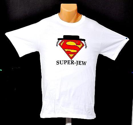 Super- judío Camisetas 100% algodón: Amazon.es: Deportes y aire libre