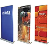 85 cm/850 mm de ancho rodillo Banner Stand, Pull Up/Roll Up Stand con estampado gráfico