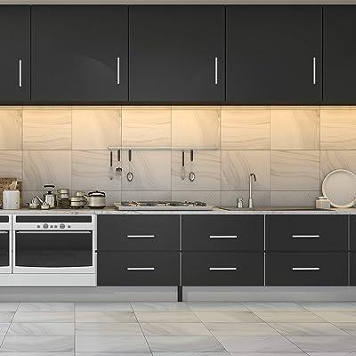 Buy 30 Pack Furnikko 5 Inch Cabinet Pulls Brushed Nickel Cabinet Hardware Drawer Pulls Modern Stainless Steel Kitchen Cabinet Handles 3 Inch Hole Center Online In Germany B08gytxqyk