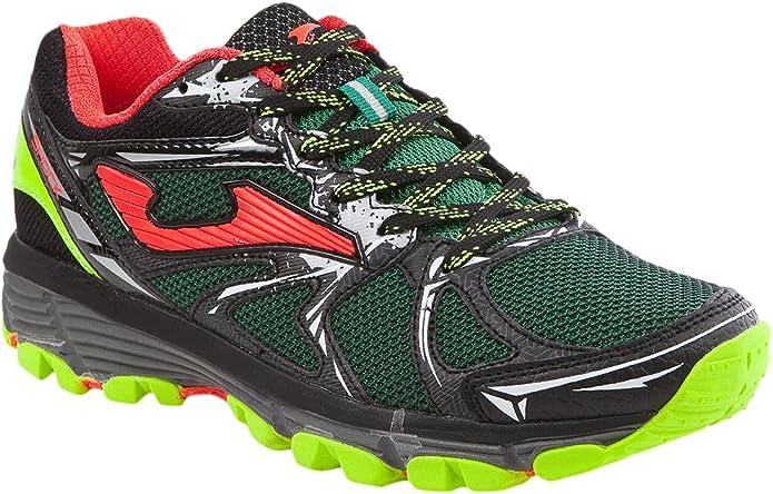 Joma Shock Zapatillas de Running para Asfalto, Hombre, Verde (Green), 43 EU: Amazon.es: Zapatos y complementos
