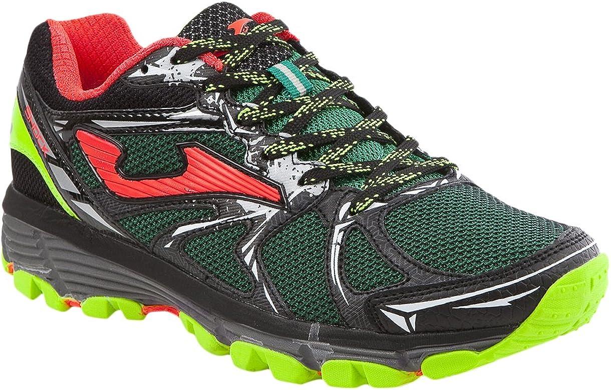 Joma Shock Zapatillas de Running para Asfalto, Hombre, Verde (Green), 44 EU: Amazon.es: Zapatos y complementos